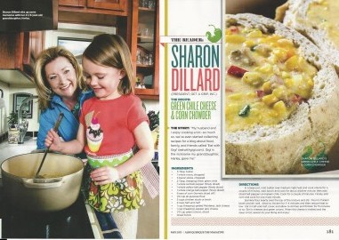 Sharon and Harley in ABQ the Mag